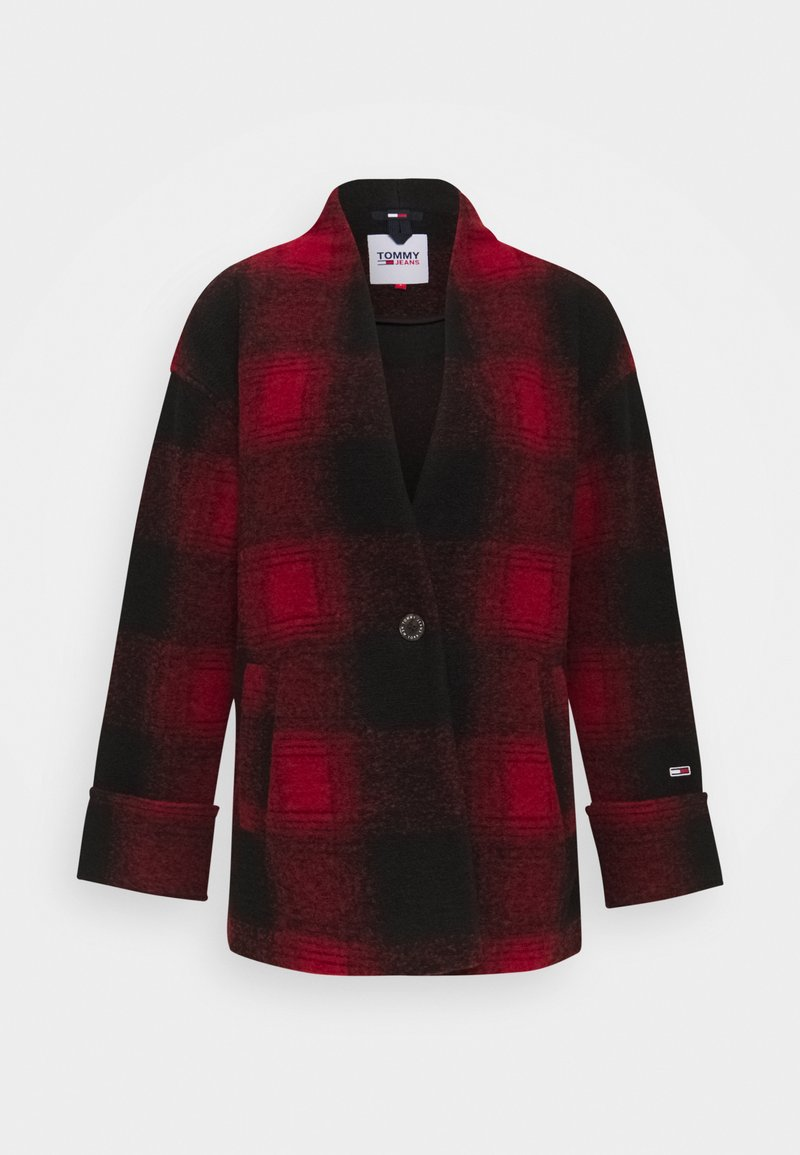Tommy Jeans - Blazer - deep crimson/black