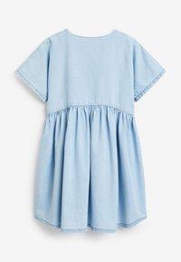 Next - RELAXED  - Denim dress - light blue - 2