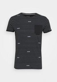 ECKLEY - Print T-shirt - black