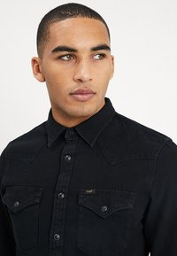 Lee - WESTERN - Shirt - black - 4