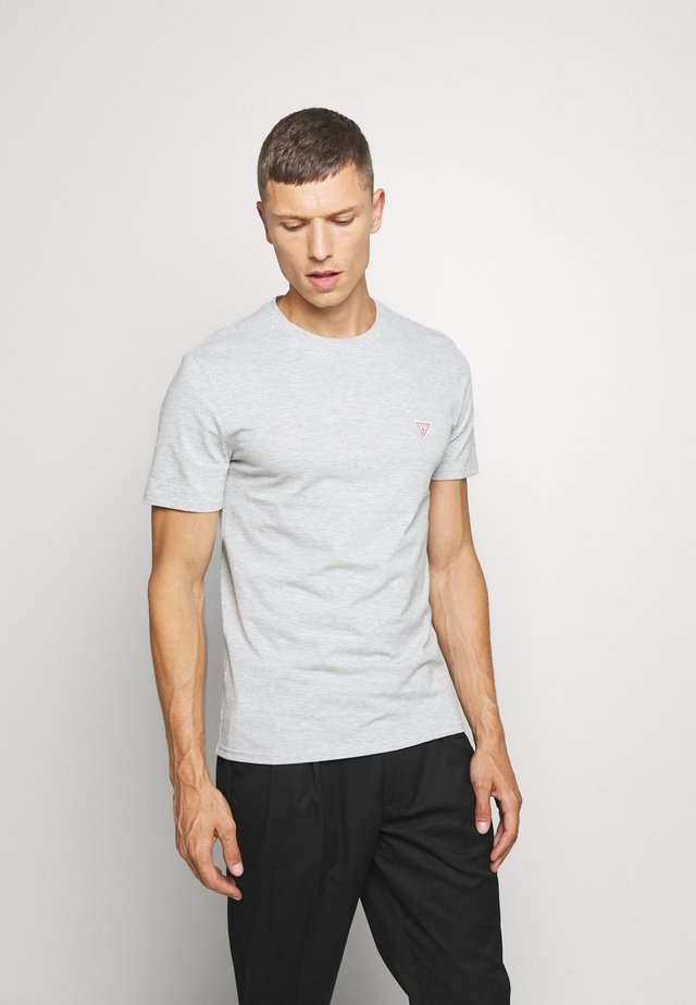 TEE - Basic T-shirt - light heather grey