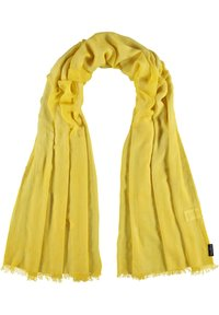 Fraas - Scarf - yellow camel - 1