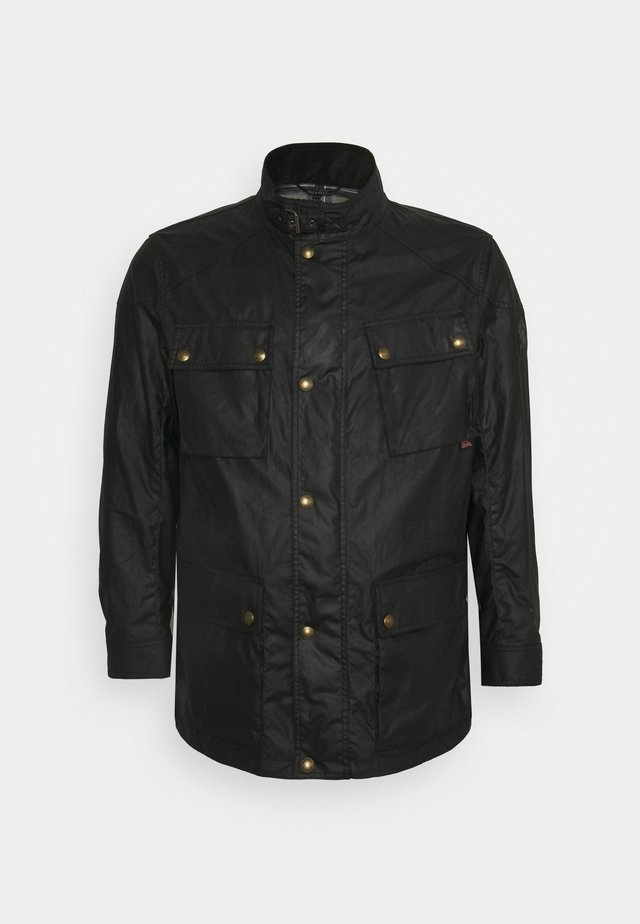 FIELDMASTER JACKET SIGNATURE - Lehká bunda - black