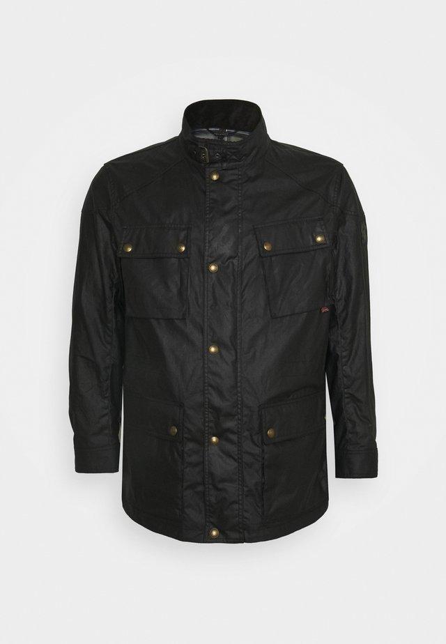 FIELDMASTER JACKET SIGNATURE - Summer jacket - black