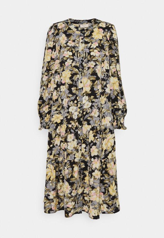 Korte jurk - yellow mix