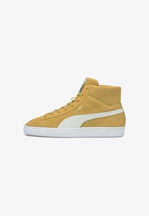 MID XXI  - Sneakers hoog - honey mustard/puma white