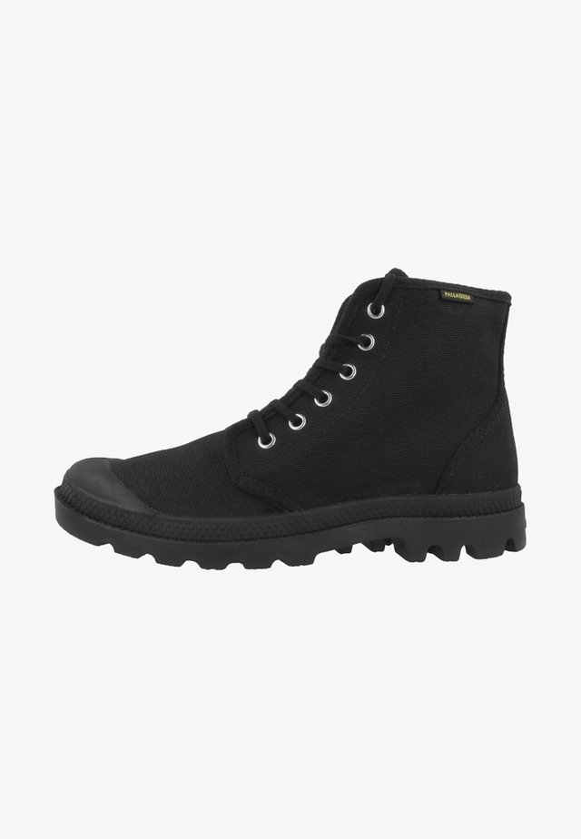 VEGAN PAMPA HI ORIGINAL - Bottines à lacets - black