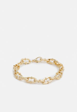 PLAYING WITH FIRE CHAIN LINK BRACELET - Rannekoru - gold-coloured