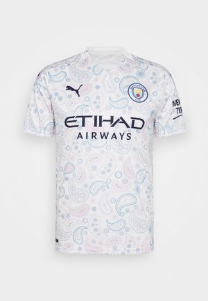 MANCHESTER CITY THIRD SHIRT REPLICA - Fanartikel - whisper white/peacoat