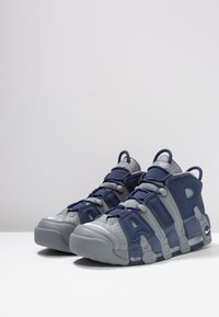 Nike Sportswear - AIR MORE UPTEMPO 96 - High-top trainers - cool grey/white/midnight navy - 4