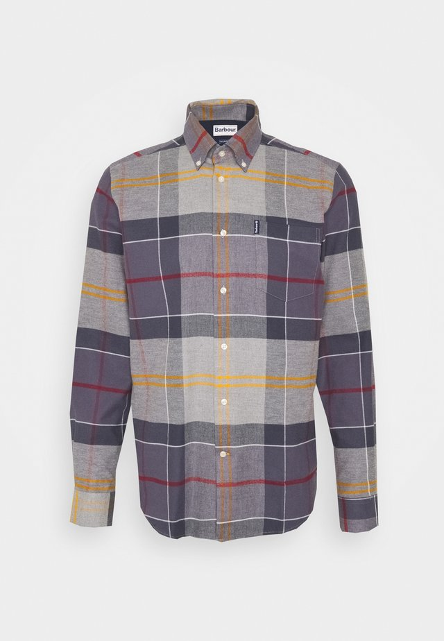 TARTAN TAILORED - Shirt - grey/purple