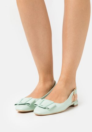 Slingback ballet pumps - mint