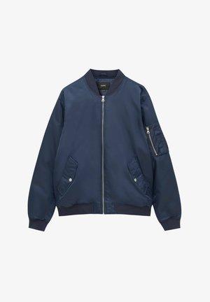 BASIC WATTIERTE  - Light jacket - dark blue