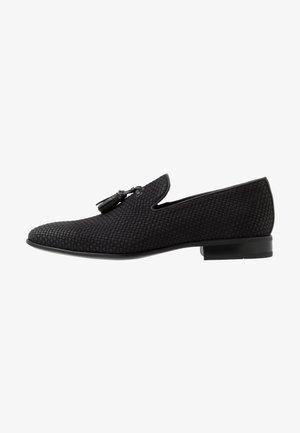 MUNTELUI - Nazouvací boty - black