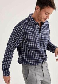 DeFacto - Formal shirt - indigo - 3