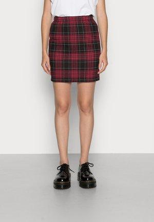 NMSOUND SKIRT - Mini skirt - red