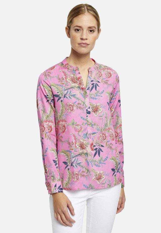 FLORAL - Pusero - pink multicolor