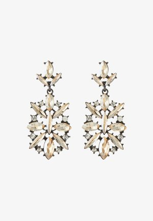 ONLSTOLEN EARRING - Náušnice - silver-colored/champagne