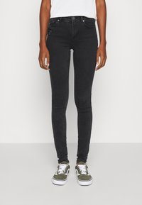 ONLY - ONLCARMEN LIFE - Jeans Skinny Fit - black - 0