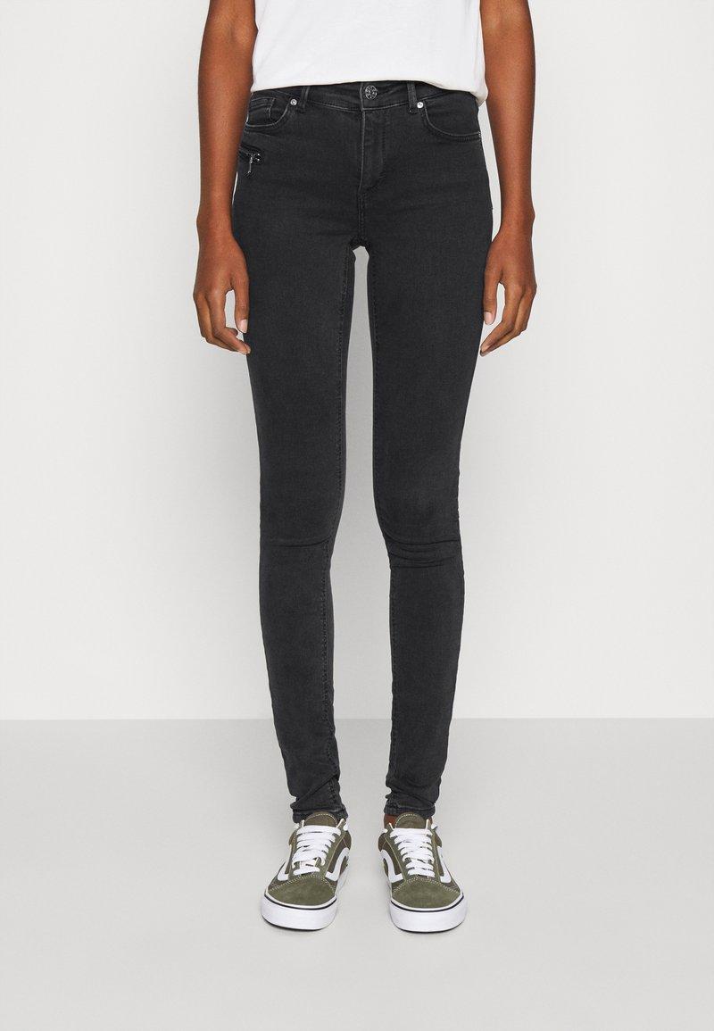 ONLY - ONLCARMEN LIFE - Jeans Skinny Fit - black