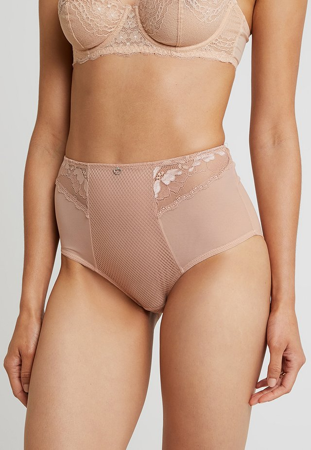 DELIGHTFUL HIGH WAIST BRIEF - Onderbroeken - latte