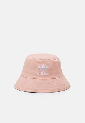 BUCKET HAT UNISEX - Klobouk - vapour pink/white