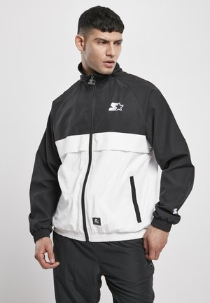 Veste de survêtement - black/white