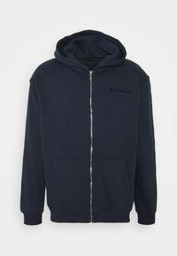 Mennace - ESSENTIAL REGULAR ZIP UP HOODIE - Zip-up hoodie - navy - 0