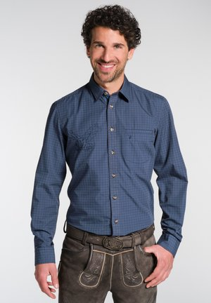 NELSON - Shirt - blue