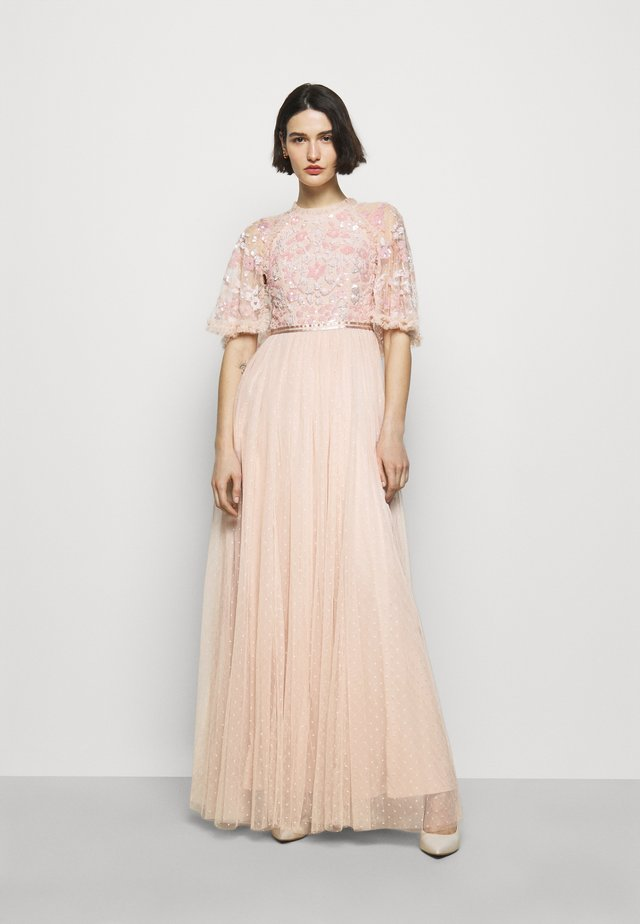SEQUIN RIBBON DRESS - Abito da sera - pink encore