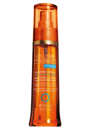 PROTECTIVE OIL SPRAY FOR COLOURED HAIR - Hair treatment - -