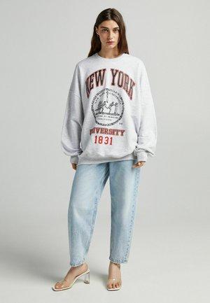 MIT NEW YORK - Collegepaita - light grey