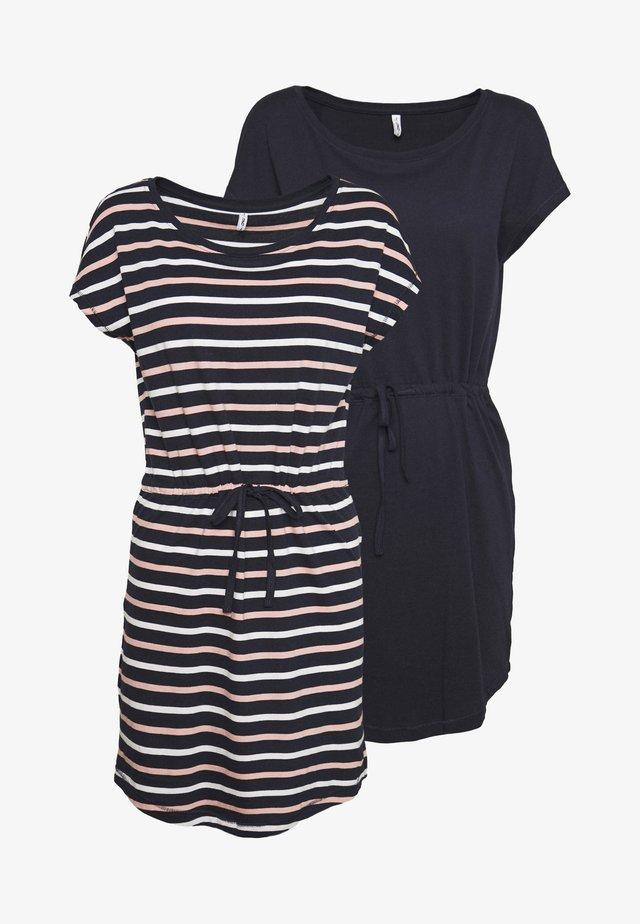ONLMAY LIFE DRESS 2 PACK - Jerseyklänning - night sky/multi misty