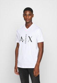 Armani Exchange - T-Shirt print - white - 0