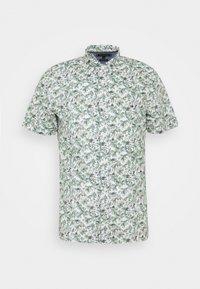 Tommy Hilfiger - SLIM PALM TREE PRINT - Shirt - white/green slate/multi - 4
