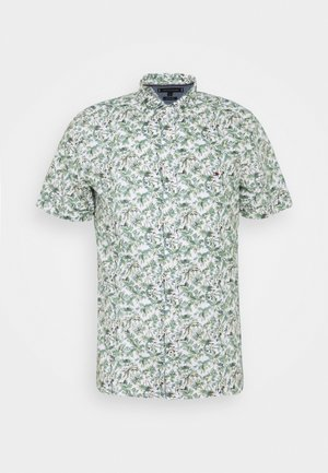 SLIM PALM TREE PRINT - Shirt - white/green slate/multi