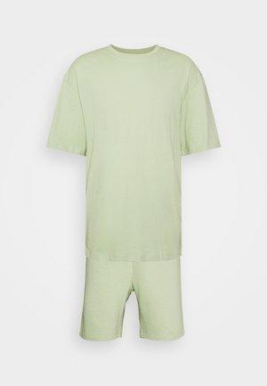 JORBRINK TEE CREW NECK SET - T-shirt - bas - celadon green