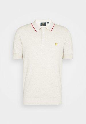 Polo shirt - vanilla ice marl