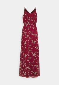 Vero Moda - VMWONDA WRAP DRESS - Maxi dress - tibetan red - 1