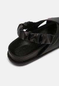ZIGN Wide Fit - AKITO - Sandalen - black - 5