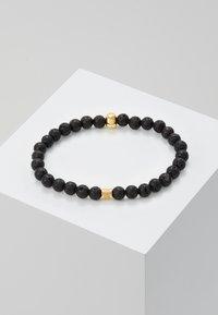 Northskull - SKULL BRACELET - Bracciale - black/gold-coloured - 2
