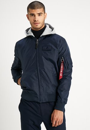 HOODED - Chaquetas bomber - rep blue