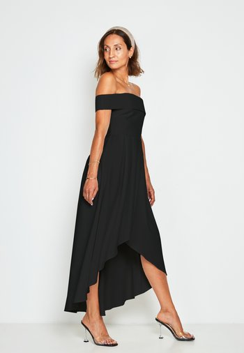 PREMIUM HI-LOW BARDOT  - Occasion wear - black