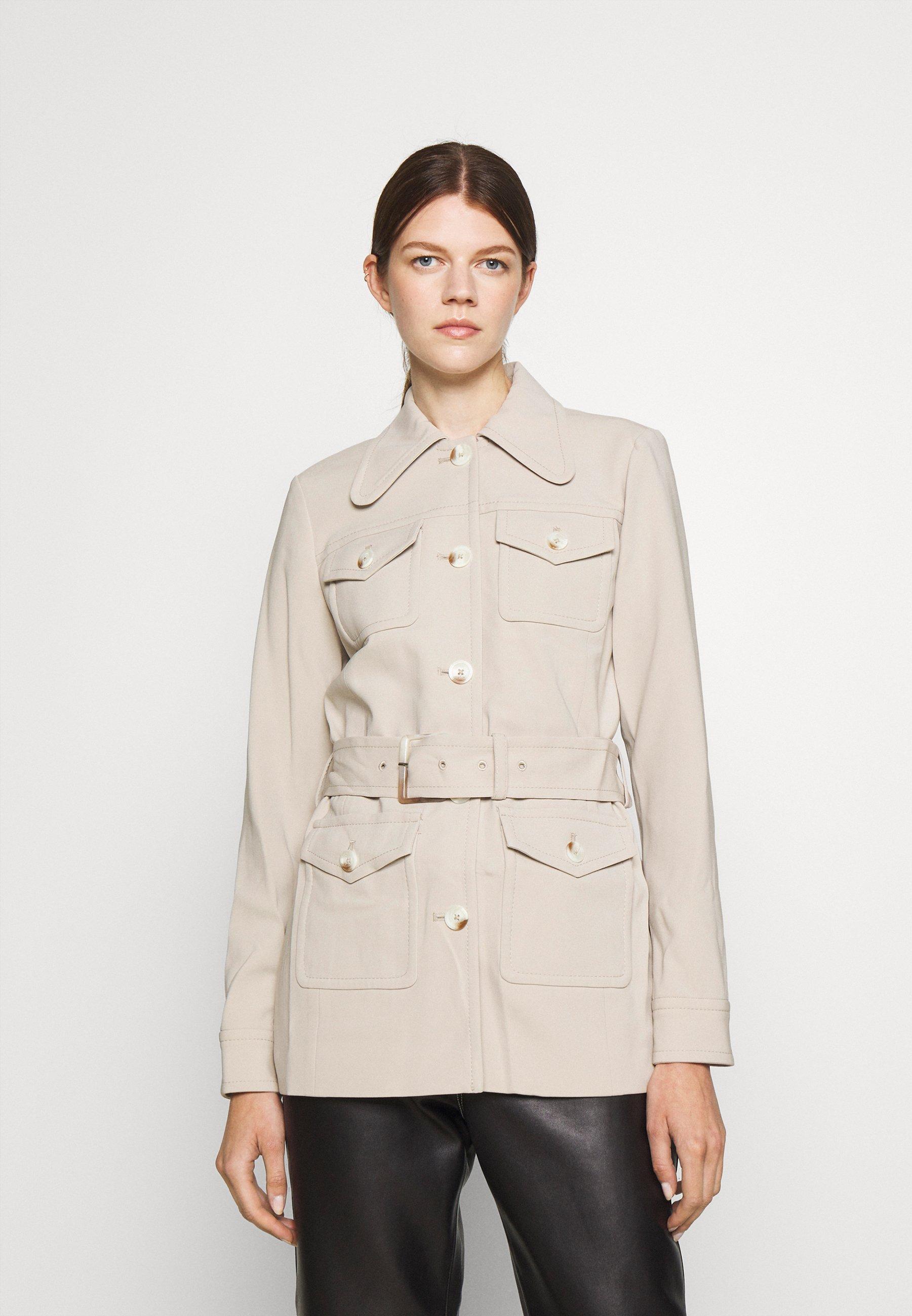 Women BELTED - Summer jacket