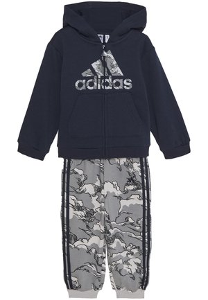 FAVOURITES TRAINING SPORTS TRACKSUIT BABY SET - Dres - legend ink/grey three