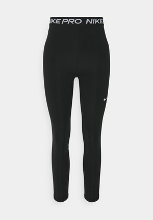 7/8 HI RISE - Leggings - black/white