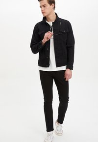 DeFacto - Denim jacket - black - 1