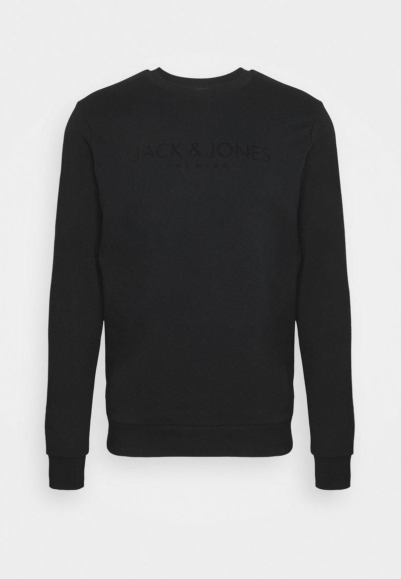 Jack & Jones PREMIUM - JPRBLAJAKE CREW NECK - Sweatshirt - black