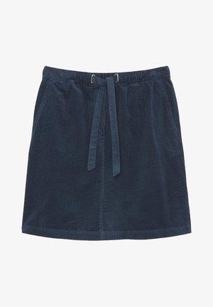 SKIRT JOGGING STYLE ELASTIC WAIST FRENCH POCKETS SHORT - A-line skirt - breezy sea