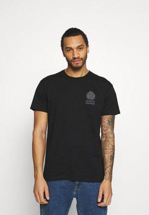 TOGETHER - T-shirt med print - black
